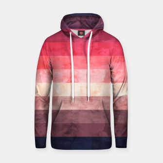 Thumbnail image of Watercolor landscape Hoodie, Live Heroes