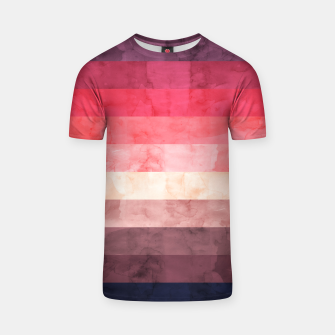 Thumbnail image of Watercolor landscape T-shirt, Live Heroes