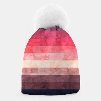 Thumbnail image of Watercolor landscape Beanie, Live Heroes