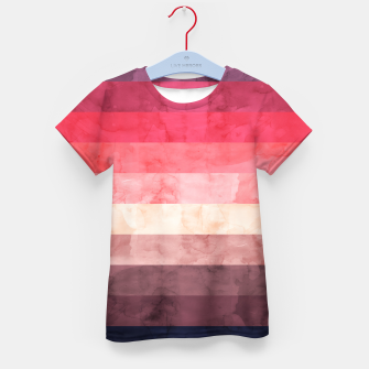 Thumbnail image of Watercolor landscape Kid's t-shirt, Live Heroes