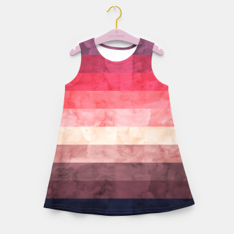 Imagen en miniatura de Watercolor landscape Girl's summer dress, Live Heroes