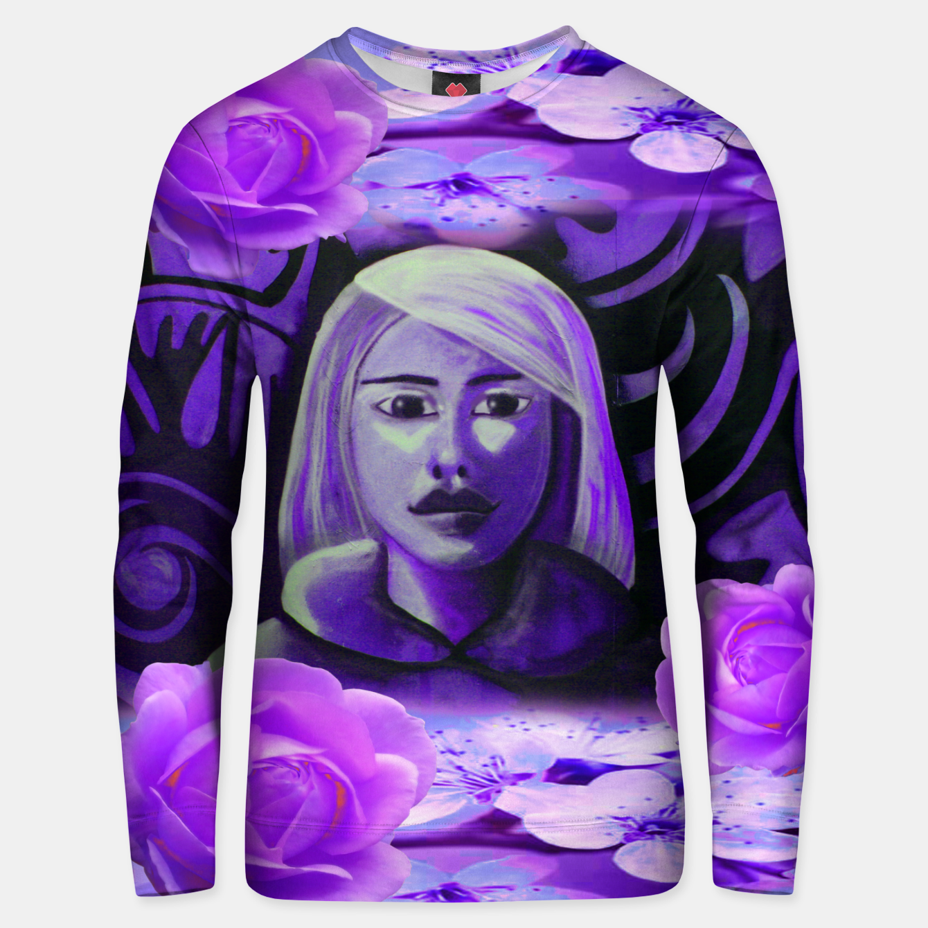 Image of SUMMER IS PURPLE sweater - Live Heroes