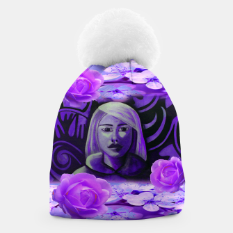 Thumbnail image of SUMMER IS PURPLE beanie, Live Heroes