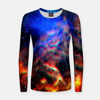 Thumbnail image of Fire trippy Space Sweater, Live Heroes
