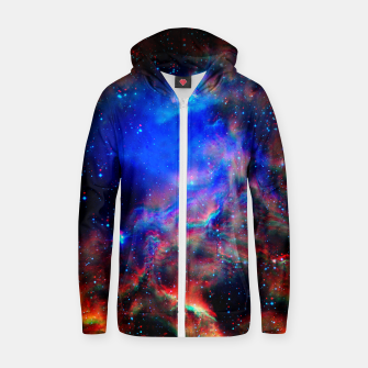 Thumbnail image of Fire trippy Space Hoodie, Live Heroes