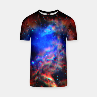 Thumbnail image of Fire trippy Space tshirt, Live Heroes