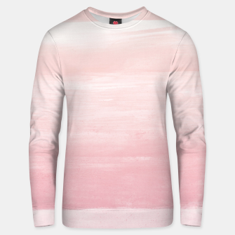 Blush Watercolor Abstract Minimalism #1 #minimal #painting #decor #art  Unisex sweatshirt obraz miniatury