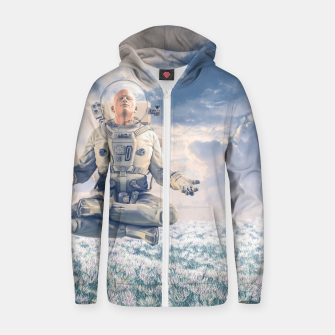 Thumbnail image of Dreamer In The Field Zip up hoodie, Live Heroes