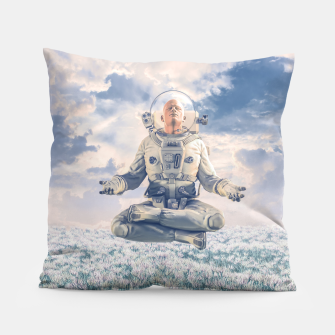 Thumbnail image of Dreamer In The Field Pillow, Live Heroes