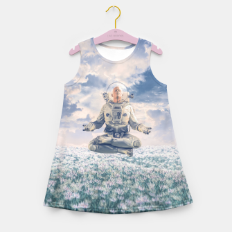 Miniatur Dreamer In The Field Girl's summer dress, Live Heroes