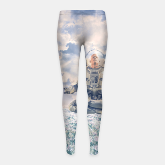 Thumbnail image of Dreamer In The Field Girl's leggings, Live Heroes