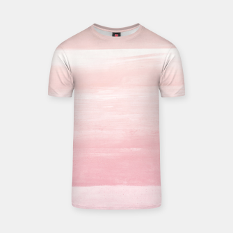 Blush Watercolor Abstract Minimalism #1 #minimal #painting #decor #art  T-Shirt obraz miniatury