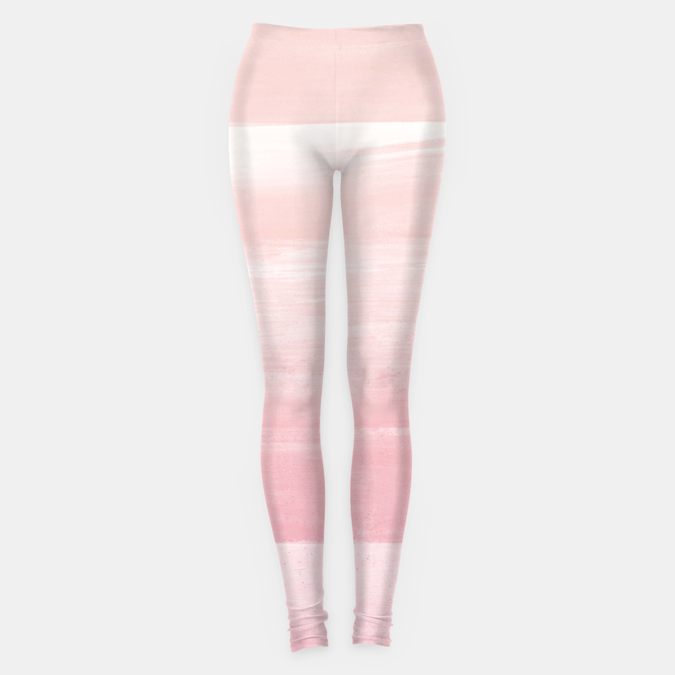 Zdjęcie Blush Watercolor Abstract Minimalism #1 #minimal #painting #decor #art  Leggings - Live Heroes