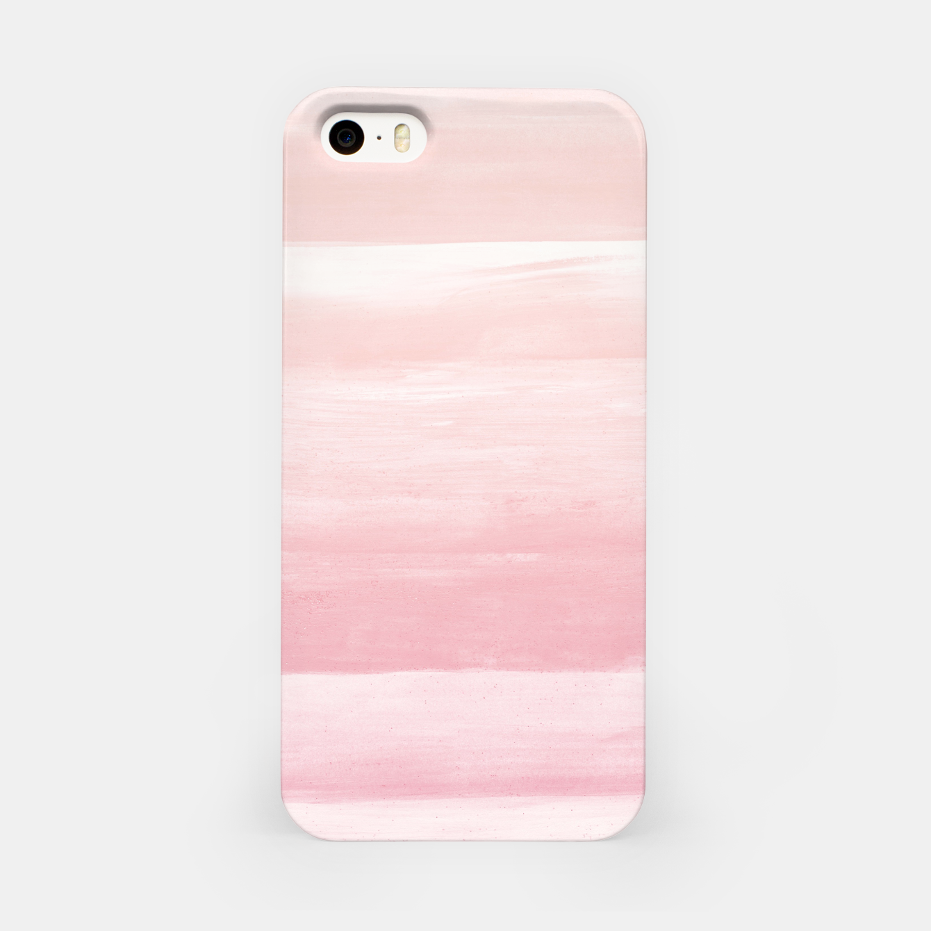 Zdjęcie Blush Watercolor Abstract Minimalism #1 #minimal #painting #decor #art  iPhone-Hülle - Live Heroes