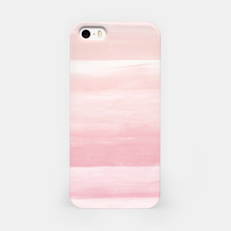 Blush Watercolor Abstract Minimalism #1 #minimal #painting #decor #art  iPhone-Hülle obraz miniatury