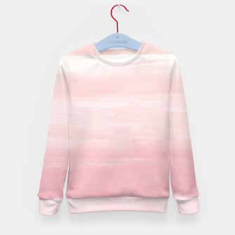 Miniaturka Blush Watercolor Abstract Minimalism #1 #minimal #painting #decor #art  Kindersweatshirt, Live Heroes
