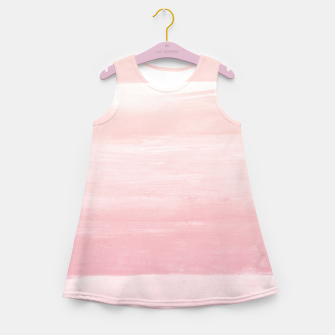 Miniaturka Blush Watercolor Abstract Minimalism #1 #minimal #painting #decor #art  Mädchen-Sommerkleid, Live Heroes