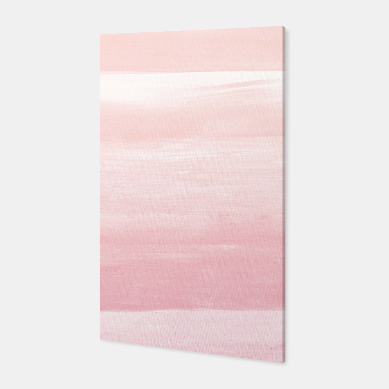 Zdjęcie Blush Watercolor Abstract Minimalism #1 #minimal #painting #decor #art  Canvas - Live Heroes