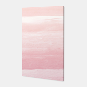 Blush Watercolor Abstract Minimalism #1 #minimal #painting #decor #art  Canvas obraz miniatury