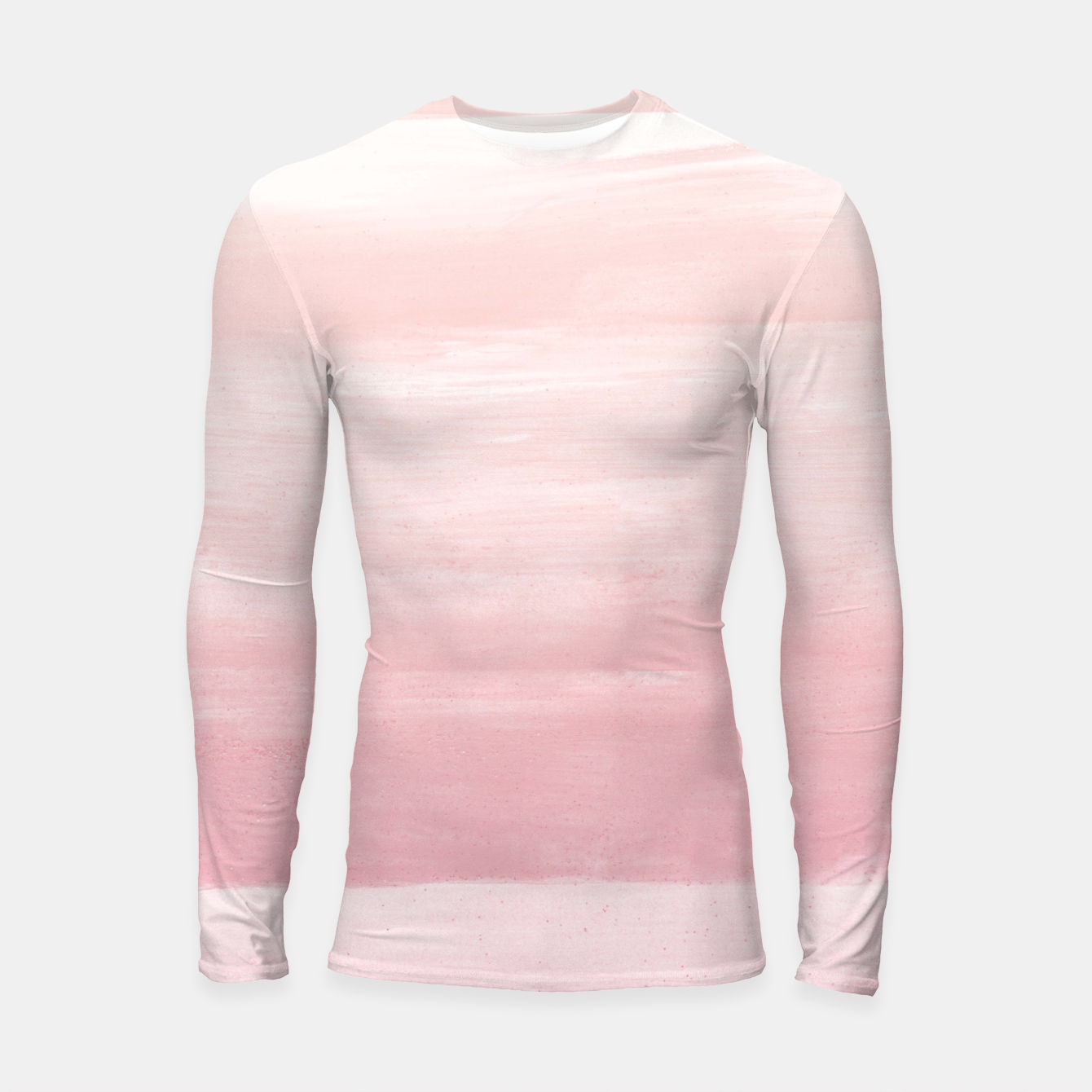 Zdjęcie Blush Watercolor Abstract Minimalism #1 #minimal #painting #decor #art  Longsleeve rashguard - Live Heroes