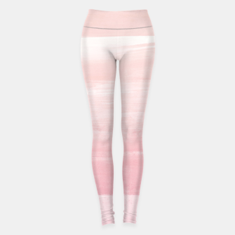 Miniaturka Blush Watercolor Abstract Minimalism #1 #minimal #painting #decor #art  Leggings, Live Heroes