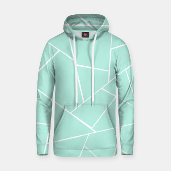 Thumbnail image of Mint Geometric Glam #1 #geo #decor #art  Kapuzenpullover, Live Heroes