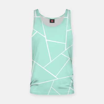 Thumbnail image of Mint Geometric Glam #1 #geo #decor #art  Muskelshirt , Live Heroes