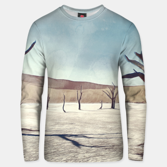 deadvlei desert trees acrfn Unisex sweater miniature