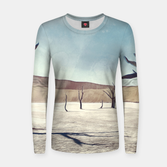 deadvlei desert trees acrfn Women sweater thumbnail image