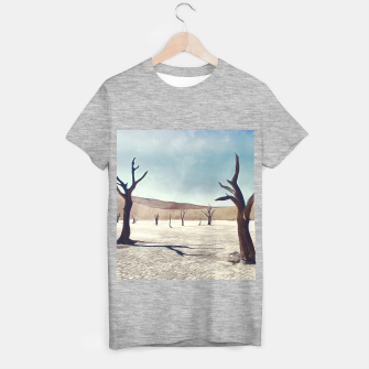 deadvlei desert trees acrfn T-shirt regular thumbnail image