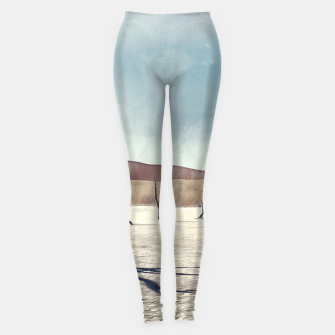 deadvlei desert trees acrfn Leggings miniature
