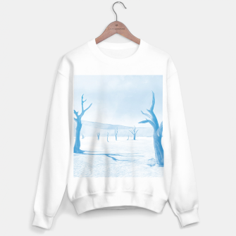 deadvlei desert trees acrwb Sweater regular thumbnail image