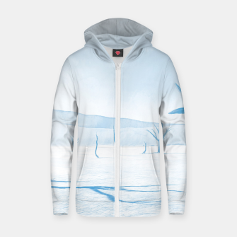 deadvlei desert trees acrwb Zip up hoodie thumbnail image
