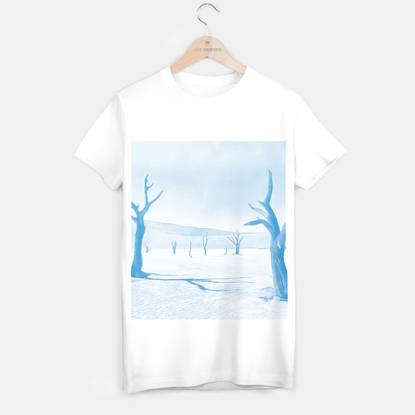 Image of deadvlei desert trees acrwb T-shirt regular - Live Heroes