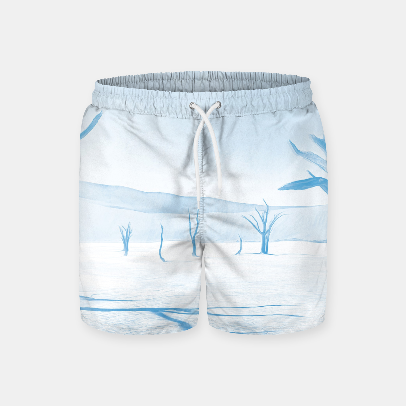 Image of deadvlei desert trees acrwb Swim Shorts - Live Heroes