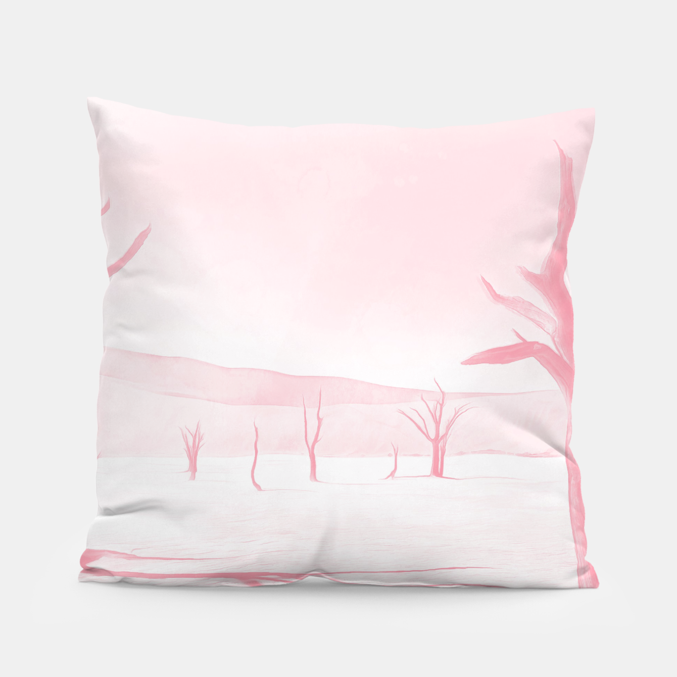 Image of deadvlei desert trees acrpw Pillow - Live Heroes