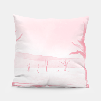 Thumbnail image of deadvlei desert trees acrpw Pillow, Live Heroes