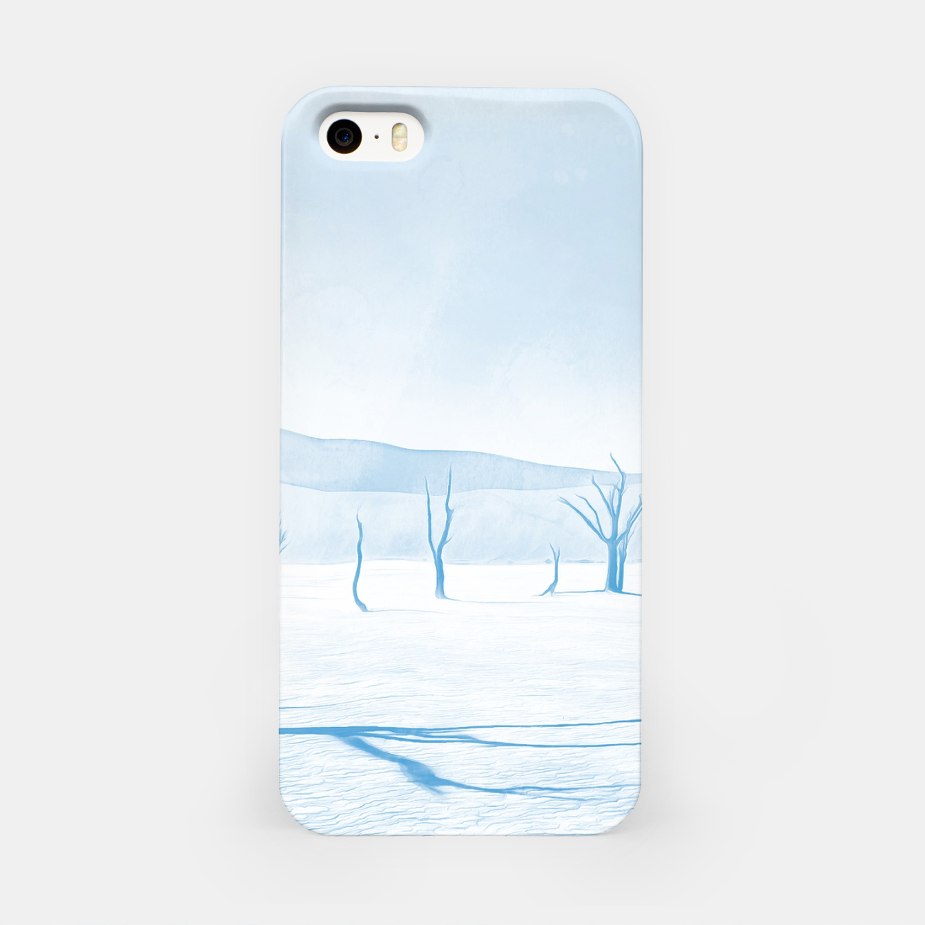 Image of deadvlei desert trees acrwb iPhone Case - Live Heroes