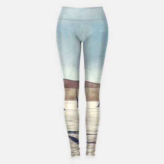 Thumbnail image of deadvlei desert trees acrfn Leggings, Live Heroes