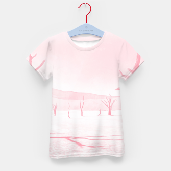 deadvlei desert trees acrpw Kid's t-shirt miniature