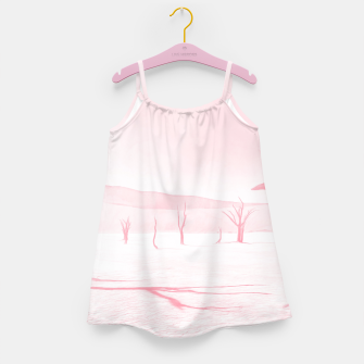 Miniature de image de deadvlei desert trees acrpw Girl's dress, Live Heroes