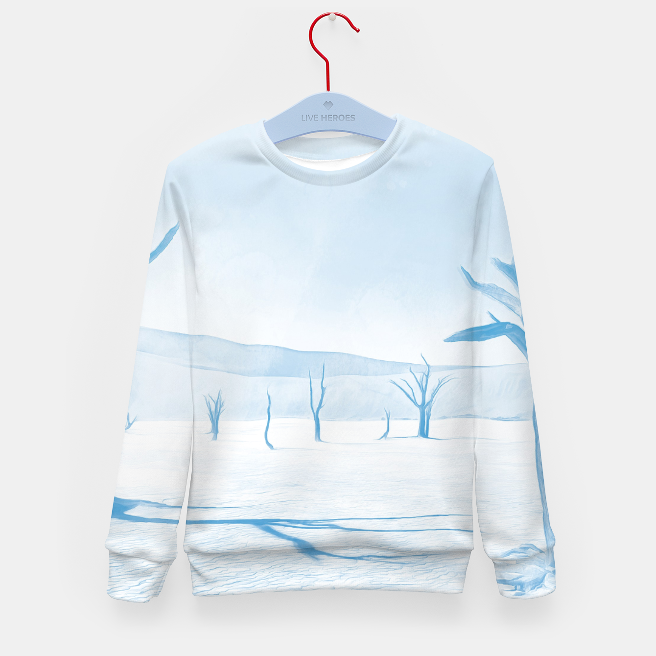 Image of deadvlei desert trees acrwb Kid's sweater - Live Heroes