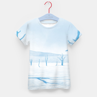 deadvlei desert trees acrwb Kid's t-shirt miniature