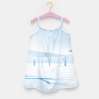 Thumbnail image of deadvlei desert trees acrwb Girl's dress, Live Heroes