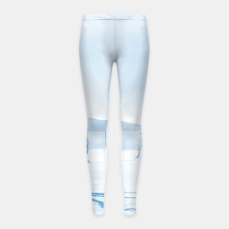 Thumbnail image of deadvlei desert trees acrwb Girl's leggings, Live Heroes