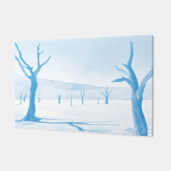deadvlei desert trees acrwb Canvas thumbnail image
