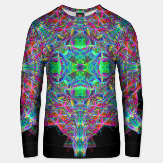 Psychedelic Star Unisex sweater thumbnail image