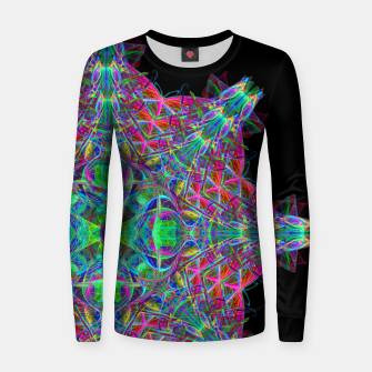 Thumbnail image of Psychedelic Star Women sweater, Live Heroes