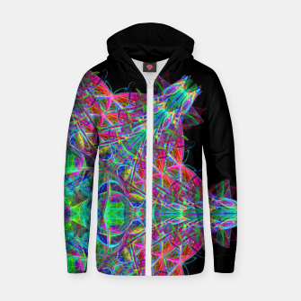Thumbnail image of Psychedelic Star Zip up hoodie, Live Heroes