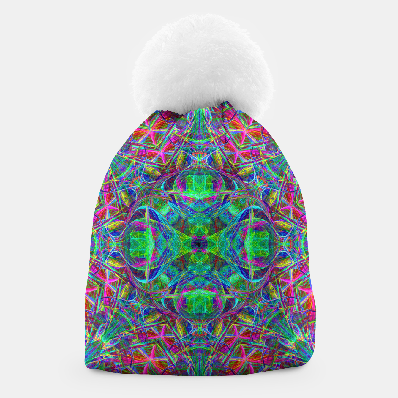 Image of Psychedelic Star Beanie - Live Heroes